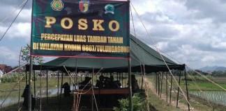 Posko Percepatan Luas Tambah Tanam Tulungagung/Foto Dok. Pribadi/Nusantaranews