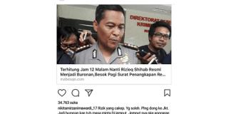 Nikita Mirzani minta HRS pulang ke Jakarta. Foto Screenshot/ Andika