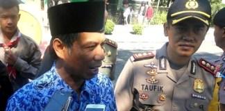 WARNING: Bupati Amin Said Husni melarang PNS memakai kendaraan dinas saat mudik lebaran. Foto Saphan/Saphan
