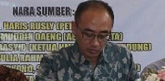 Direktur Eksekutif Indonesian Club, Gigih Guntoro. Foto Achmad Hatim/ NUSANTARAnews.co