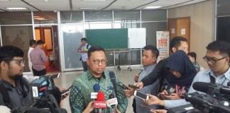 Ketua Pansus RUU Pemilu Lukman Edy. Foto Ucok Al Ayubbi/ NUSANTARANEW.CO