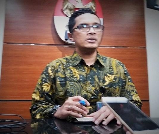 Jubir KPK, Febri Diansyah . (Foto: Restu Fadilah/Nusantaranews)