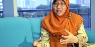 Anggota DPR RI Komisi X Ledia Hanifah. Foto Agung Supriyanto/Republika