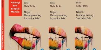 Cover Antologi Esai Bengkel Mastera. Ilustrasi: NUSANTARANEWS.CO