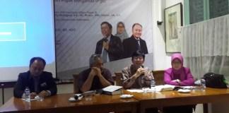 """Diskusi Publik dan Bedah Buku """"Perjanjian Penghindaran Pajak Berganda (P3B) : Panduan, Interpretasi, dan Aplikasi"""" oleh IFC di Bilangan, Jakarta Pusat, Kamis (27/7/2017). FOto Yameen/ NUSANTARANEWS.CO"""