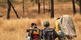 di Oro-oro Ombo menuju Cemoro Kandang, Mahameru. Foto: DOk. Gerry Neka Kantaki (coretanlepas.wordpress.com)