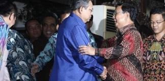 Pertemuan SBY dan Probowo/Foto via liputan6/Nusantaranews