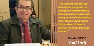 Kepala UKP PIP Yudi Latif. Ilustrasi Foto: Istimewa/ NUSANTARANEWS.CO