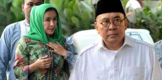 gubernur bengkulu dan istri/Foto Istimewa/Nusantaranews