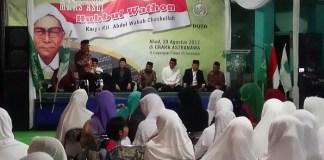 Kurator museum Nahdlatul Ulama (NU) sekaligus pemerhati NU Choirul Anam dalam sebuah acara. Foto Tri Wahyudi/ NusantaraNews.co