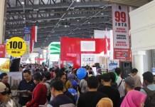 pameran perumahan Indonesia Property Expo (IPEX) 2017 di JCC. Foto Richard Andika/ NUSANTARANEWS.CO