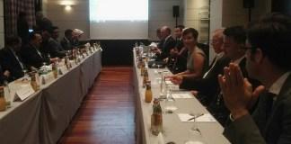 Bisnis Meeting dengan pengusaha Jerman/Foto Yudhie/Nusantaranews