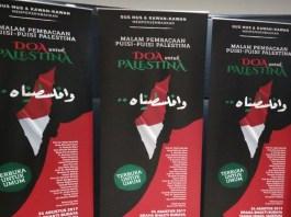 Doa Untuk Palestina/Foto Sulaiman/Nusantaranews