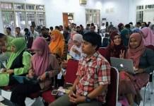 Diskusi dan Peresmian Forum Aceh Menulis (FAM) di Aula Museum Aceh, Banda Aceh, Rabu (16/8/2017). Foto Najmi/ NusantaraNews.co