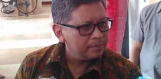 Sekjend PDI Perjuangan Hasto Kristiyanto. (Foto: Eriec Dieda/Nusantaranews)