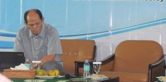 Ekonom Ichsanuddin Noorsy. Foto Ahmad Hatim/ NusantaraNews.co