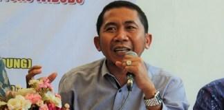 Peneliti Asosiasi Ekonomi Politik Indonesia (AEPI) Salamuddin Daeng. Foto Ahmad Hatim/ NUSANTARANEWS.CO