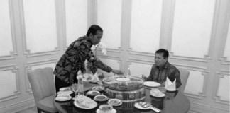 Presiden Jokowi menjamu Ketum Golkar Setya Novanto. (Foto: Viva/Moh Nadlir/Ilustrasi)