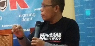 Masinton Pasaribuan/Foto Ucok AA/Nusantaranews