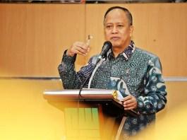 Menristekdikti Mohamad Nasir/Foto via akurat/Nusantaranews