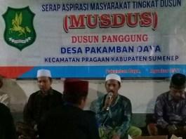 Musyawarah Dusun/Foto Mahdi/Nusantaranews