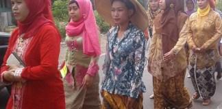 Peserta Karnaval Budaya/Foto Fahrudin/Nusantaranews