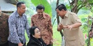 Prabowo Subianto dan Rachmawati suatu ketika. Foto: Istimewa