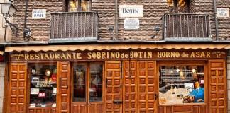 Sobrino De Botin, Madrid, Spanyol, Restoran Tertua Di Dunia. Foto: Getty Images
