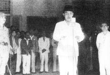 Soekarno Pidato Kemerdekaan/Foto Istimewa/Nusantaranews