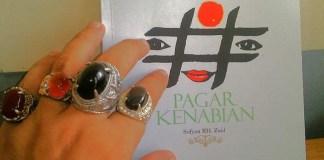 "Cover Antologi Puisi ""Pagar Kenabian"" Karya Sofyan RH Zaid. Foto: Istimewa/NusantaraNews.co"