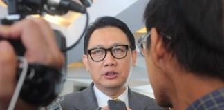Deputi Bidang Koordinasi Kedaulatan Maritim Kemenko Kemaritiman Arif Havas Oegroseno. Foto Richard Andika/ NusantaraNews.co
