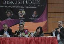Diskusi Publik Urgensi Partai Politik di UIN. (Foto Tri/Nusantaranews)