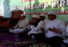 Bacagub Jawa Timur, La Nyalla Mahmud Mattalitti berharap dukungan jamaah Majelis Taklim Baabussaadah (Mata Basah), Bojonegoro. (Foto: Yuhide/NusantaraNews)