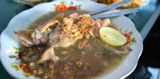 Kaldu Kokot/Kikil, Kuliner Khas Sumenep. Foto: Junanto Herdiawan