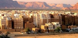 Kota Shobam di sudut terdalam Yaman. Foto: Dok. wallpapersxl.com