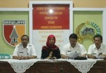Konferensi Pers Festival Egrang di aula Kodim 0824 Jember, Rabu (20/9/2017). Foto Sis24/NusantaraNews.co