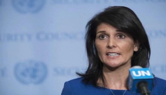 Duta Besar Washington untuk PBB, Nikki Haley. (Foto: Mary Altaffer/Associated Press)