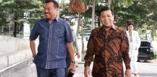 Pengacara Rudi Alfonso mendampingin tersangka Korupsi e-KTP Setya Novanto selaku kliennya. Foto: Dok. Jawa Pos