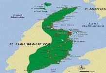Peta Halmahera Utara