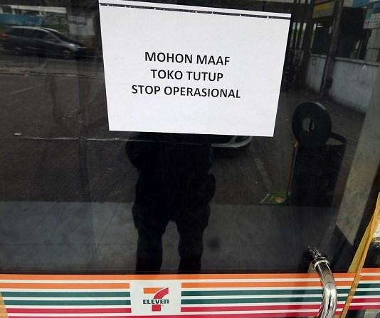 Salah satu toko gulung tikar/Foto via liputan6/Nusantaranews