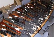 Senjata laras panjang. (Foto Ilustrasi/republika/Nusantaranews)
