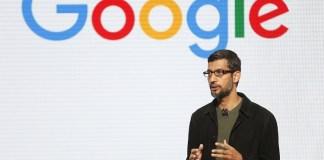Sundar Pichai CEO Google/Foto via Bussinessinsider/Nusantaranews