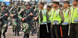 Kepolisian harus di bawah Depdagri (Kemendagri) dan tidak dipersenjatai melebihi tentara. TNI kombatan, Polisi non-kombatan. (Foto: Ilustrasi/Via Liputan6)