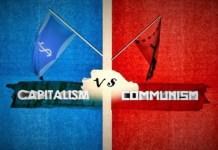 Kapitalis vs Komunis (Ilustrasi). Foto: Dok. Istimewa