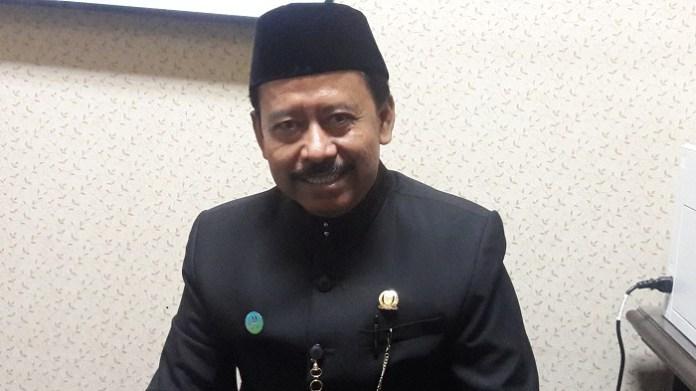 Anggota komisi B DPRD Jatim Subianto Petani Tebu, minta Bulog beli Gula Petani. Foto Tri Wahyudi/ NusantaraNews