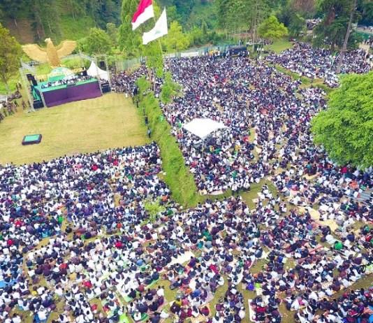 Apel Kesetiaan Pancasila (Foto Istimewa/Nusantaranews)