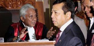 Cepi Iskandar dan Setya Novanto (Foto via tribunnews.com)