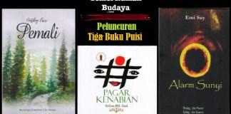 Pemali, Pagar Kenabian dan Alarm Sunyi diluncurkan di Rumah Budaya Tembi Yogyakarta. Ilustrasi/NusantaraNews