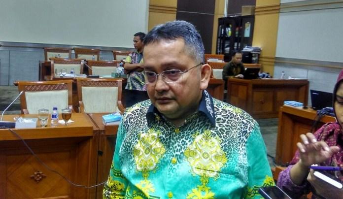 Anggota Komisi III DPR RI, Trimedya Pandjaitan. Foto Ucok Al Ayubbi/ NusantaraNews