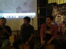 Bersama Rana 9, komunitas fotografi dari Tegal, di hadapan puluhan audiens, BCCF fotografi berbagi trik dan teknik fotografi. Foto. Dok, BCCF/ NusantaraNews